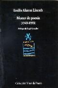 Portada de MESTER DE POESIA 1949-1993