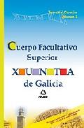 Portada de CUERPO FACULTATIVO SUPERIOR DE LA XUNTA DE GALICIA. TEMARIO COMUNVOLUMEN II