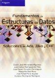Portada de FUNDAMENTOS DE ESTRUCTURAS DE DATOS : SOLUCIONES EN ADA, JAVA Y C++