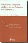 Portada de DERECHOS Y PRINCIPIOS RECTORES EN LOS ESTATUTOS DE AUTONOMIA