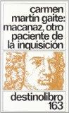 Portada de MACANAZ, OTRO PACIENTE DE LA INQUISICION