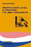 Portada de ENSAYOS SOBRE LA PAZ, EL PROGRESO Y EL IDEAL COSMOPOLITA