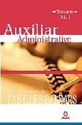 Portada de AUXILIARES ADMINISTRATIVOS DE LA UNIVERSIDAD DE LAS ILLES BALEARS