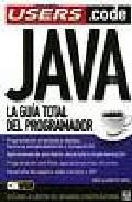 Portada de LA GUIA TOTAL DEL PROGRAMADOR JAVA