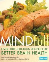 Portada de MINDFULL: OVER 100 DELICIOUS RECIPES FOR BETTER BRAIN HEALTH