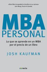 Portada de MBA PERSONAL (EBOOK)