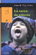 Portada de LA TAREA DE EDUCAR