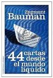 Portada de 44 CARTAS DESDE EL MUNDO LIQUIDO