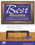 Portada de GALLERY OF BEST RESUMES: A COLLECTION OF QUALITY RESUMES BY PROFESSIONAL RESUME WRITERS