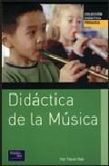 Portada de DIDACTICA DE LA MUSICA