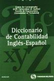 Portada de DICCIONARIO DE CONTABILIDAD INGLES-ESPAÑOL 1ª ED