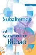 Portada de TEMARIO SUBALTERNOS DEL AYUNTAMIENTO DE BILBAO