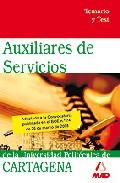 Portada de AUXILIARES DE SERVICIOS DE LA UNIVERSIDAD POLITECNICA DE CARTAGENA. TEMARIO Y TEST