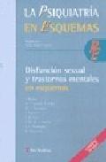 Portada de DISFUNCION SEXUAL Y TRASTORNOS MENTALES EN ESQUEMAS: PSIQUIATRIA EN ESQUEMAS