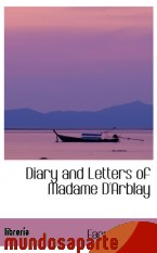 Portada de DIARY AND LETTERS OF MADAME D`ARBLAY