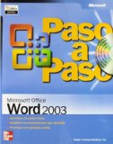 Portada de MICROSOFT OFFICE WORD 2003