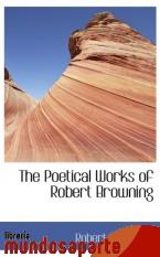 Portada de THE POETICAL WORKS OF ROBERT BROWNING