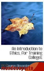 Portada de AN INTRODUCTION TO ETHICS, FOR TRAINING COLLEGES