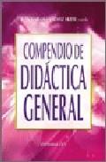 Portada de COMPENDIO DE DIDACTICA GENERAL