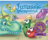Portada de JURASSIC PLAYGROUND - VEGGIETALES MISSION POSSIBLE ADVENTURE SERIES #4: PERSONALIZED FOR CLARISSA