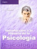 Portada de INTRODUCCION A LA HISTORIA DE LA PSICOLOGIA