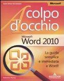 Portada de MICROSOFT WORD 2010 (A COLPO D'OCCHIO)