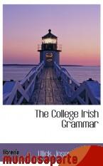 Portada de THE COLLEGE IRISH GRAMMAR