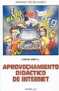 Portada de APROVECHAMIENTO DIDACTICO DE INTERNET
