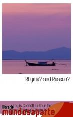 Portada de RHYME? AND REASON?