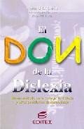 Portada de EL DON DE LA DISLEXIA