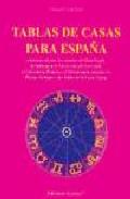 Portada de TABLAS DE CASAS PARA ESPAÑA