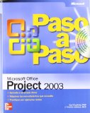 Portada de MICROSOFT OFFICE PROJECT 2003 (PASO A PASO)