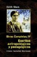 Portada de ESCRITOS ANTROPOLOGICOS Y PEDAGOGICOS