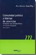 Portada de COMUNIDAD POLITICA Y LIBERTAD DE CREENCIAS