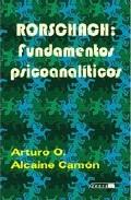 Portada de RORSCHACH: FUNDAMENTOS PSICOANALITICOS