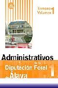 Portada de ADMINISTRATIVOS DE LA DIPUTACION FORAL DE ALAVA TEMARIO VOLUMEN 1