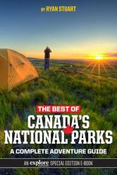Portada de THE BEST OF CANADA'S NATIONAL PARKS: A COMPLETE ADVENTURE GUIDE
