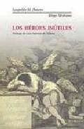 Portada de LOS HEROES INUTILES