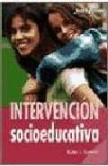 Portada de INTERVENCION SOCIOEDUCATIVA