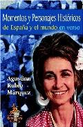 Portada de MOMENTOS Y PERSONAJES HISTORICOS DE ESPAÑA Y EL MUNDO EN VERSO