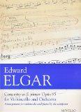 Portada de ELGAR - CONCIERTO OP.85 EN MI MENOR PARA VIOLONCELLO Y PIANO (GRIFFITHS)