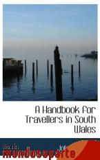Portada de A HANDBOOK FOR TRAVELLERS IN SOUTH WALES