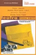 Portada de TEATRO PIEZAS BREVES 2007/2008