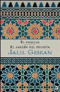 Portada de EL PROFETA + EL JARDIN DEL PROFETA