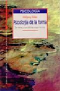 Portada de PSICOLOGIA DE LA FORMA