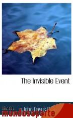 Portada de THE INVISIBLE EVENT