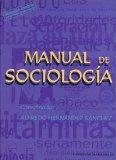 Portada de MANUAL DE SOCIOLOGIA