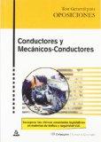 Portada de CONDUCTORES Y MECANICOS: CONDUCTORES TEST GENERAL PARA OPOSICIONES