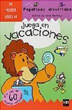 Portada de JUEGA EN VACACIONES (PEGATINAS DIVERTIDAS)