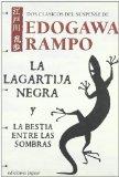 Portada de LA LAGARTIJA NEGRA Y LA BESTIA ENTRE LAS SOMBRAS